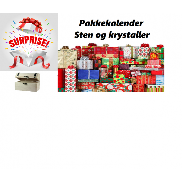 Surprise Sten & Krystaller - Pakkekalender Version 1